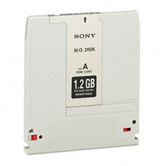 "Sony EDM1200 Magneto Optical Disk, 5.25"", 1.2Gb, 512 Bytes/Sector, Rewritable"