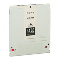 Sony EDM9100 Magneto Optical Disk, 9.1Gb, Rewritable, 4,096 Bytes/Sector