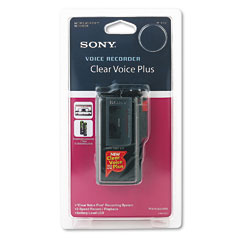 Sony SONM470 M-470 Microcassette Dictation Recorder w/Clear Voice Sound System