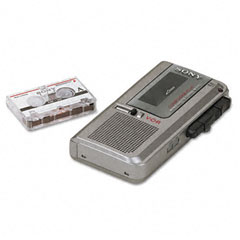 Sony SONM570V M570-V Voice-Activated Microcassette Recorder wClear Voice Plus Sound System