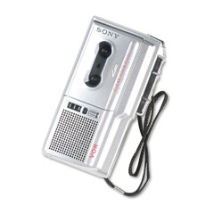 Sony SONM670V M-670V Voice-Activated Microcassette Dictation Recorder w/Clear Voice System