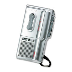Sony SONM675V M-675V Voice-Activated Microcassette Dictation Recorder w/Clear Voice System