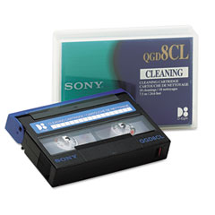 Sony QGD8CL 8Mm Cleaning Cartridge, 18 Uses