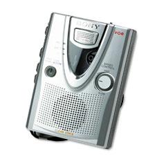 Sony SONTCM400DV TCM 400DV Handheld Standard Cassette Recorder w/Clear Voice Sound System