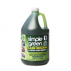 Simple Green 11001 Clean Building All-Purpose Cleaner Concentrate, 1 Gal. Bottle