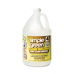 Simple Green SPG11201 Clean Building Carpet Cleaner Concentrate, Unscented, 1 gal. Bottle