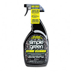 Simple Green 18401 Non-Abrasive Stone Cleaner, Unscented, 32 Oz. Bottle