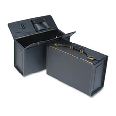 Stebco 251322BLK Tufide Catalog Case, Vinyl, 22-1/4 X 8-3/4 X 13-1/2, Black