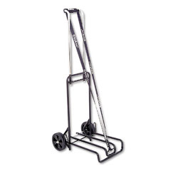 Stebco 390007BLK Luggage Cart, 250Lb Capacity, 12-1/4 X 13 Surface, Black/Chrome