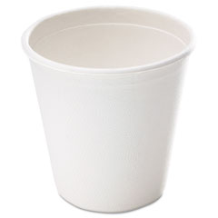 Naturehouse - bagasse cup, 9oz, 50/pack, white, sold as 1 pk