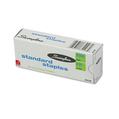 Swingline 35108 S.F. 1 Standard Economy Chisel Point 210 Full Strip Staples, 5,000/Box