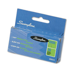 Swingline 35314 S.F. 13 Heavy-Duty 1/4 Inch Leg Length Staples, 25-Sheet Capacity, 1,000/Box