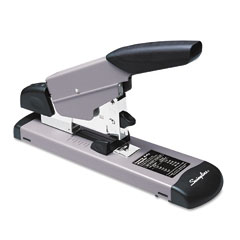 Swingline - heavy-duty stapler, 160-sheet capacity, black/gray, sold as 1 ea