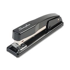 Swingline - commercial desk stapler, 20-sheet capacity, black, sold as 1 ea