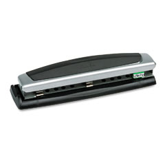 Swingline - 10-sheet precision pro desktop two- and three-hole punch, 9/32 diameter holes, sold as 1 ea