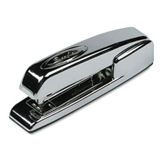 Swingline - 747 business full strip desk stapler, 20-sheet cap, polished chrome, sold as 1 ea