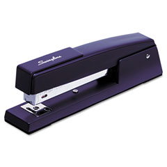 Swingline - classic 747 full strip stapler, 20-sheet capacity, royal blue, sold as 1 ea