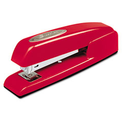 Swingline - 747 business full strip desk stapler, 20-sheet capacity, rio red, sold as 1 ea