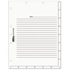 Tabbies 54520 Medical Chart Index Divider Sheets, 8 1/2 X 11, White, 400/Box