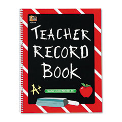 Teacher created resources - record book, spiral-bound, 11 x 8-1/2, 64 pages, sold as 1 ea