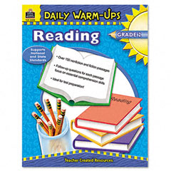 Teacher created resources - daily warm-ups: reading, grade 2, paperback, 176 pages, sold as 1 ea