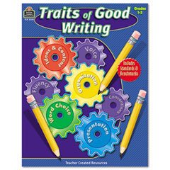 Teacher created resources - traits of good writing, grades 1-2, 144 pages, sold as 1 ea