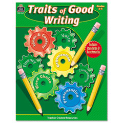 Teacher created resources - traits of good writing, grades 3-4, 144 pages, sold as 1 ea