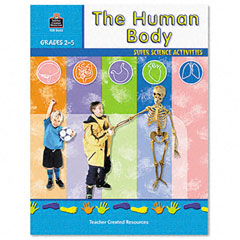 Teacher created resources - super science activities/human body, grades 2-5, 48 pages, sold as 1 ea
