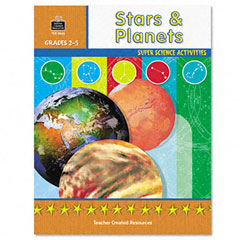 Teacher created resources - super science activities/stars planets, grades 2-5, 48 pages, sold as 1 ea
