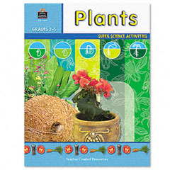 Teacher created resources - super science activities/plants, grades 2-5, 48 pages, sold as 1 ea