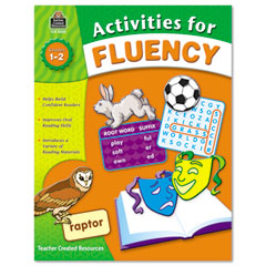 Teacher created resources - activities for fluency, grades 1 to 2, 144 pages, sold as 1 ea