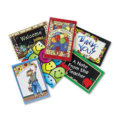 Teacher Created Resources 9026 Postcard Pack With 30 Each Of Six Designs, 4 X 6, 180 Cards/Pack