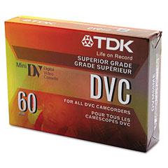 Tdk - mini digital video cassette, 60 minutes, sold as 1 ea
