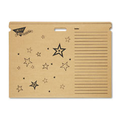 Trend - file ?????????n save chart storage box folders, 30-1/2 x 22-1/4 x 4-1/4, bright stars, sold as 1 ea