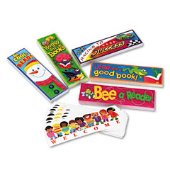 Trend - bookmark combo packs, celebrate reading variety #1, 2w x 6h, 216/pack, sold as 1 pk