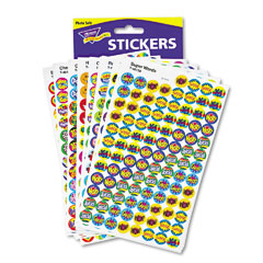 Trend - superspots & supershapes sticker variety packs, positive praisers, 2500/pack, sold as 1 pk