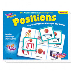 Trend - positions match me puzzle game, ages 5-8, sold as 1 ea