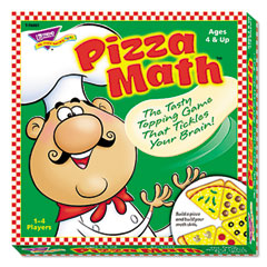 Trend - pizza math game, ages 4 and up, sold as 1 ea