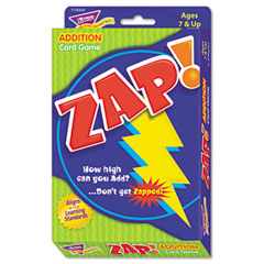 Trend - zap math card game, ages 7 and up, sold as 1 ea