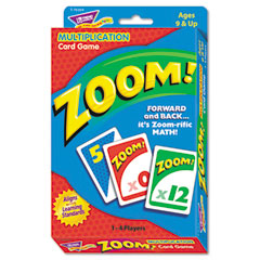 Trend - zoom math card game, ages 9 and up, sold as 1 ea