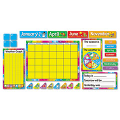 Trend - year around calendar bulletin board set, 22-inch x 17-inch, sold as 1 st