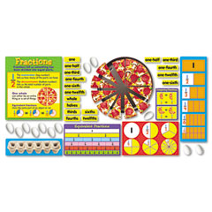 Trend - fraction action bulletin board set, sold as 1 st