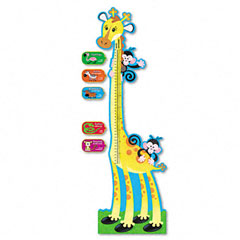 Trend - giraffe growth chart bulletin board set, 6 ft, sold as 1 st