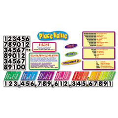Trend - place value bulletin board set, sold as 1 st