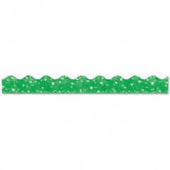 Trend - terrific trimmers sparkle border, 2 1/4-inch x 39-inch panels, green, 10/set, sold as 1 st