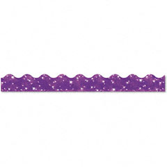 Trend - terrific trimmers sparkle border, 2 1/4-inch x 39-inch panels, purple, 10/set, sold as 1 st