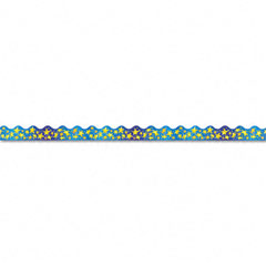 Trend - terrific trimmers bright border, 2 1/4-inch x 39-inch panels, star brights, 12/pack, sold as 1 st