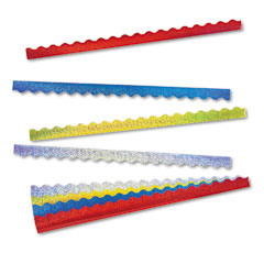 Trend - terrific trimmers sparkle border variety pack, 2 1/4 x 39 panels, asstd, 40/set, sold as 1 st
