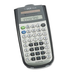 Texas Instruments TEXTI36XSOLAR TI-36X Solar Scientific Calculator, 10-Digit LCD