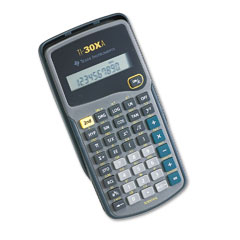 Texas instruments - ti-30xa scientific calculator, 10-digit lcd, sold as 1 ea